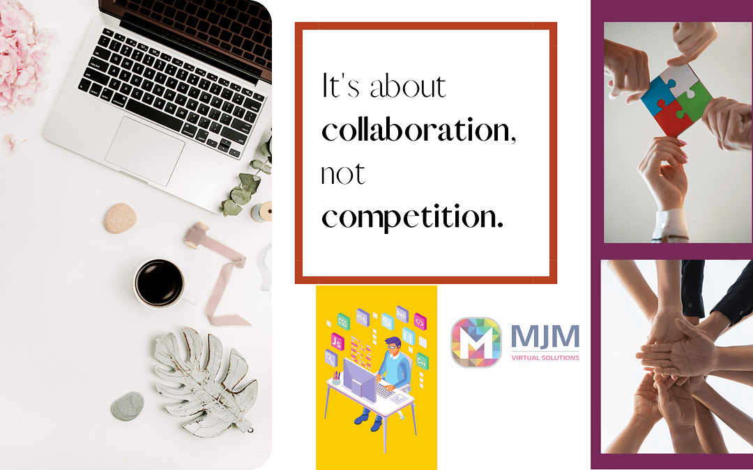 It's about collaboration, not competition