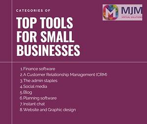 MJM Virtual Solutions Top Tools